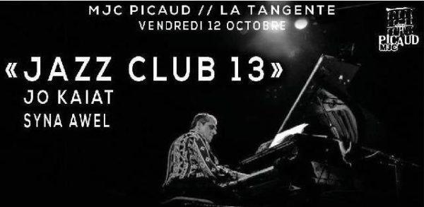 Sortie du Jazzophone #16 à l'occasion du « Jazz Club 13 » avec Syna Awel & Jo Kaiat