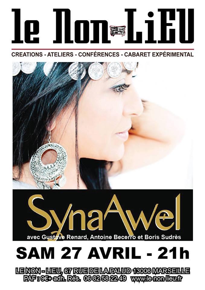 Syna Awel au Non-LiEU à Marseille le 27/04/19