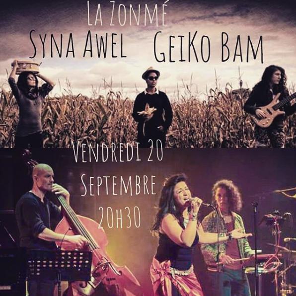 Syna Awel & Geiko Bam à la Zonmé
