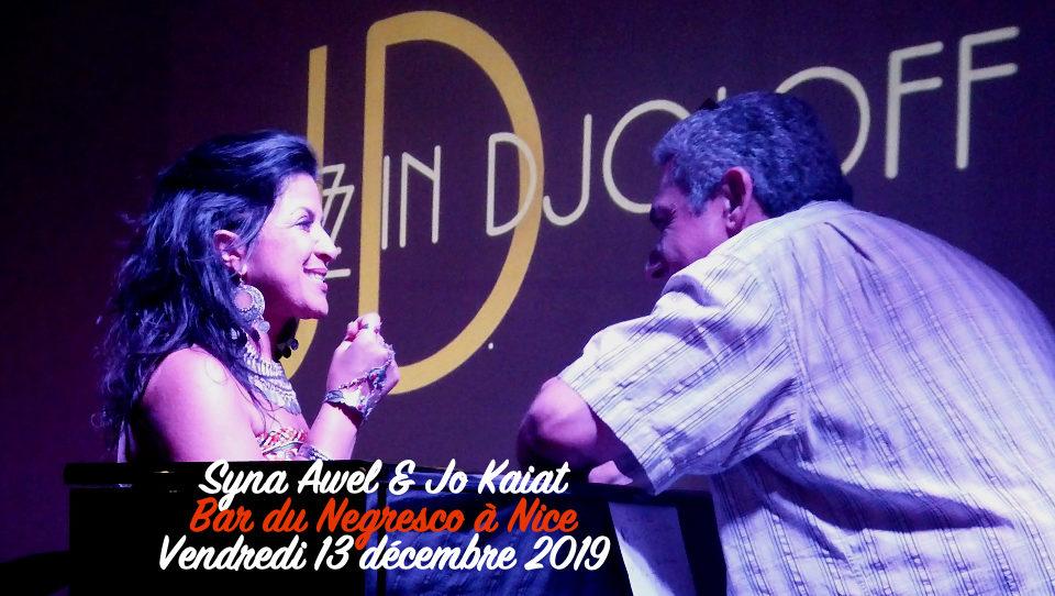 Syna Awel & Jo Kaiat au Negresco à Nice