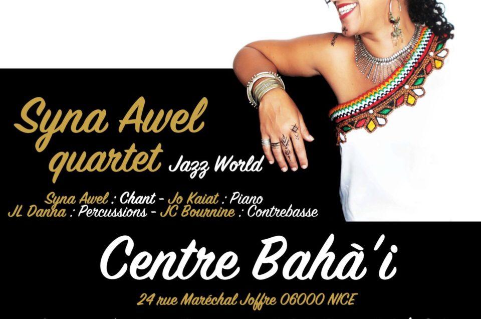 Syna Awel quartet à Nice