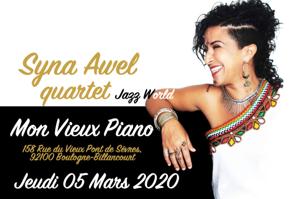 Syna Awel 4tet à Mon Vieux Piano à Billancourt